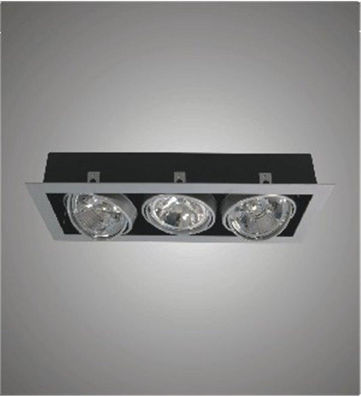 Lampa sufitowa downlight potrójna Paseo 300 do wbudowania - DOSTĘPNA OD RĘKI