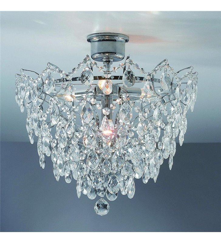 Lampa sufitowa Rosendal - chrom