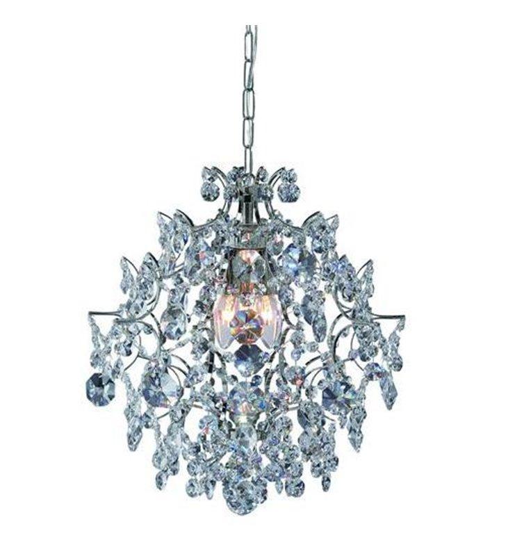 Żyrandol z kryształami Rosendal - chrom