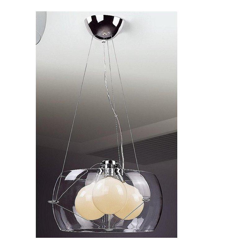 Lampa z trzema żarówkami wisząca Koma