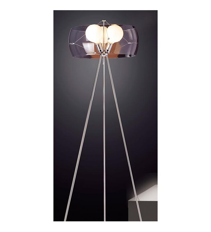 Lampa podłogowa Koma trzy żarówki trójnóg