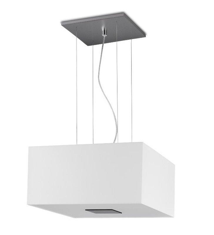 Lampa wisząca Vega biały kwadratowy abażur