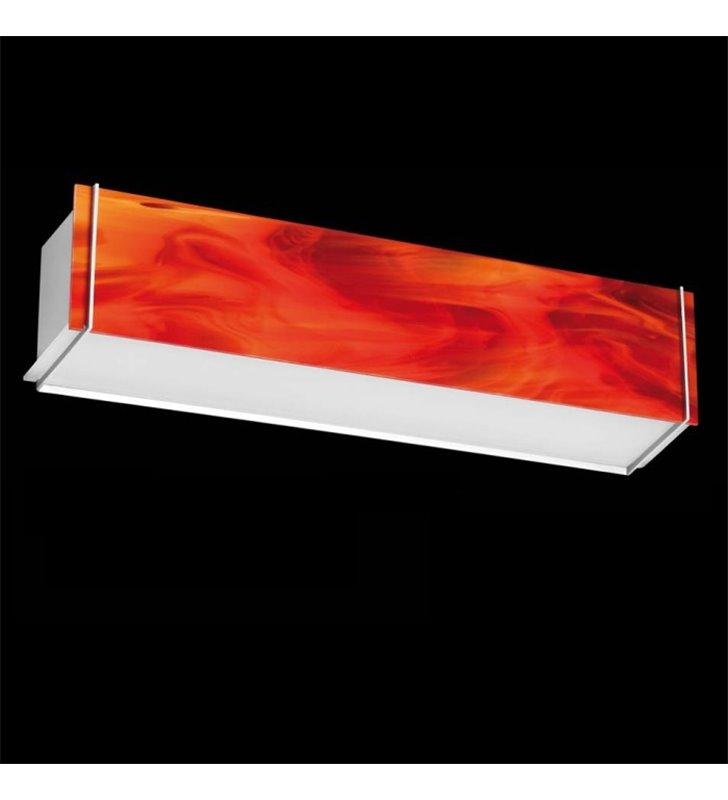 Kinkiet Traverso-6 podłużny czerwony