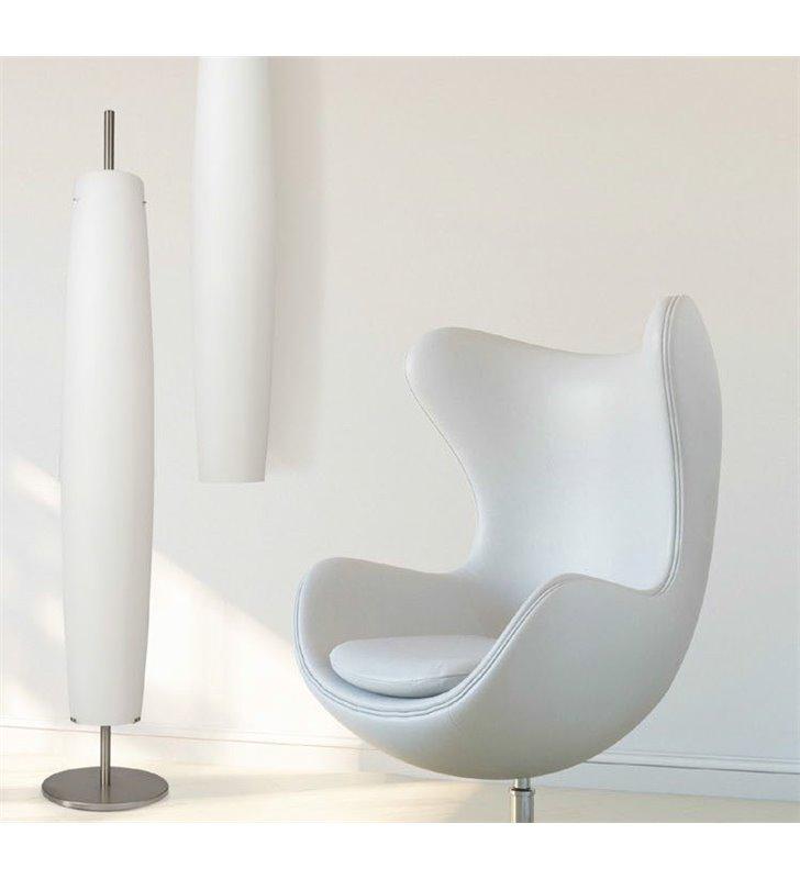 Lampa podłogowa Sigaro podłużny smukły klosz do salonu sypialni jadalni na korytarz przedpokój