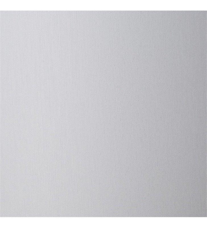 Kinkiet Cruz biały prostokątny abażur