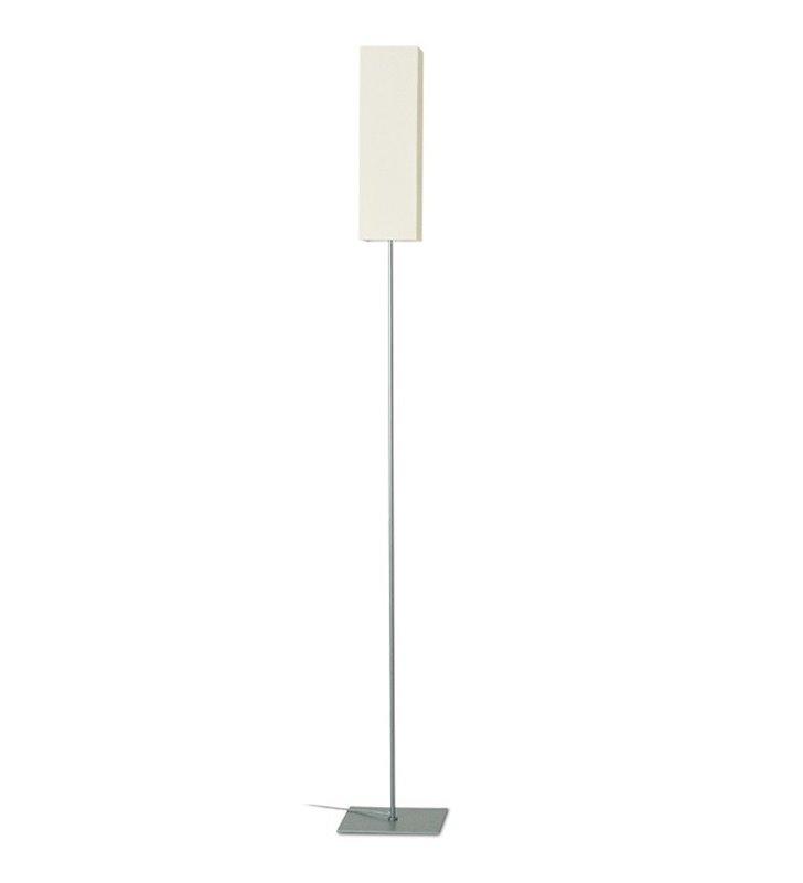 Lampa podłogowa Piko abażur ecru