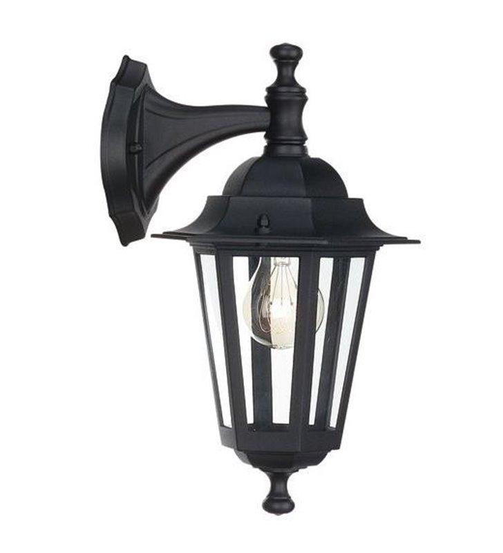 Czarny kinkiet ogrodowy latarnia Peking - DOSTĘPNY OD RĘKI