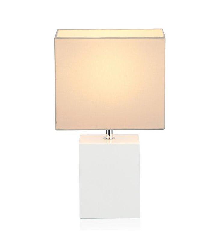 Lampa stołowa Bara kremowa