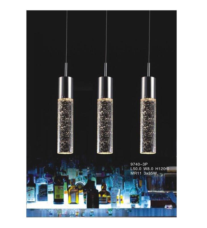 Lampa wisząca Xylo 9740-3P - potrójna