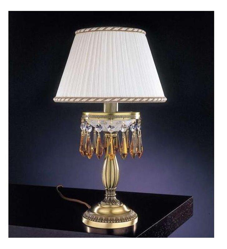 Lampa stołowa z kryształkami Vasto
