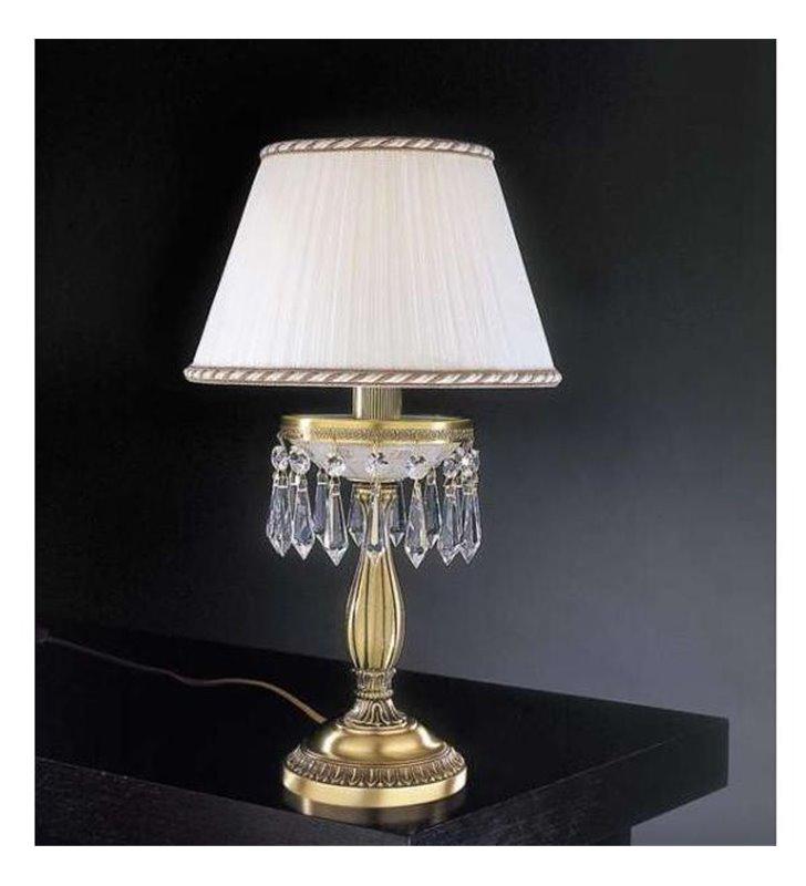 Lampa stołowa kryształowa Lombardia