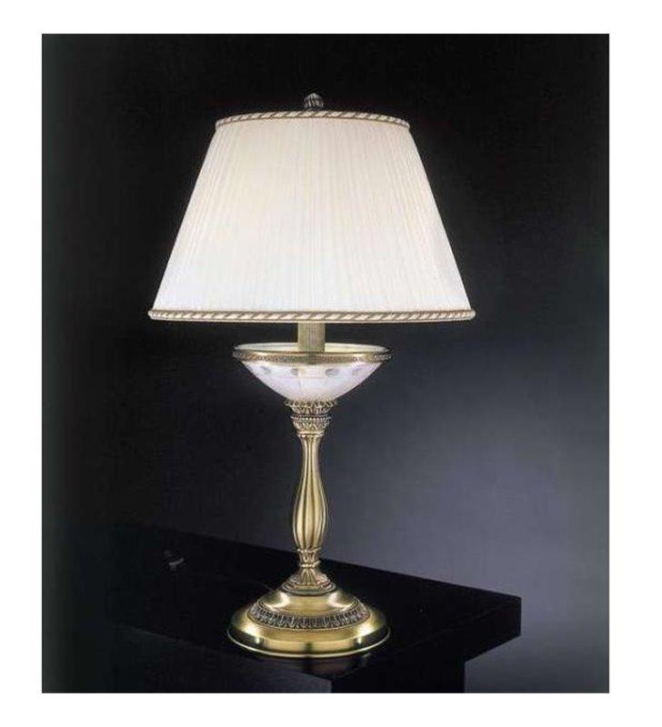 Lampa nocna z kremowym abażurem Corato