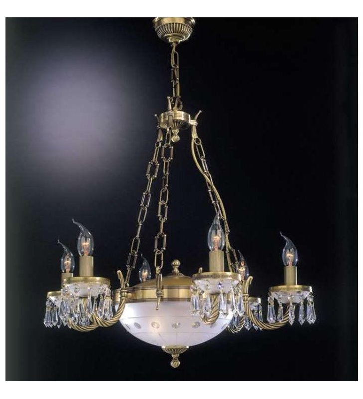 Ekskluzywny żyrandol do salonu Umbria