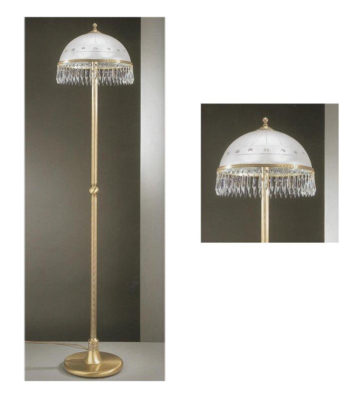 Lampa podłogowa kryształowa Orvieto