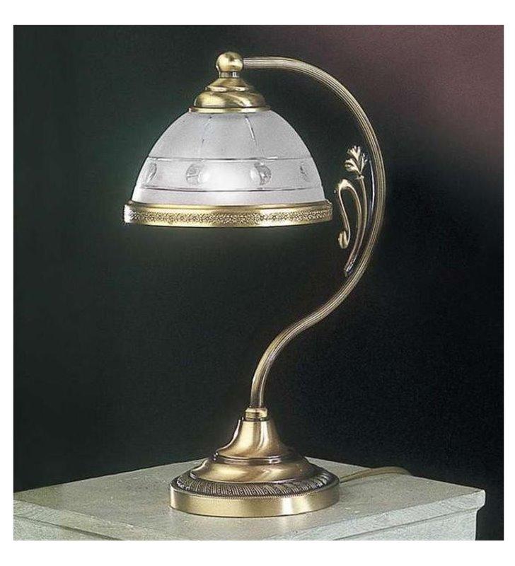 Lampa stołowa do czytania Palestrina mosiądz