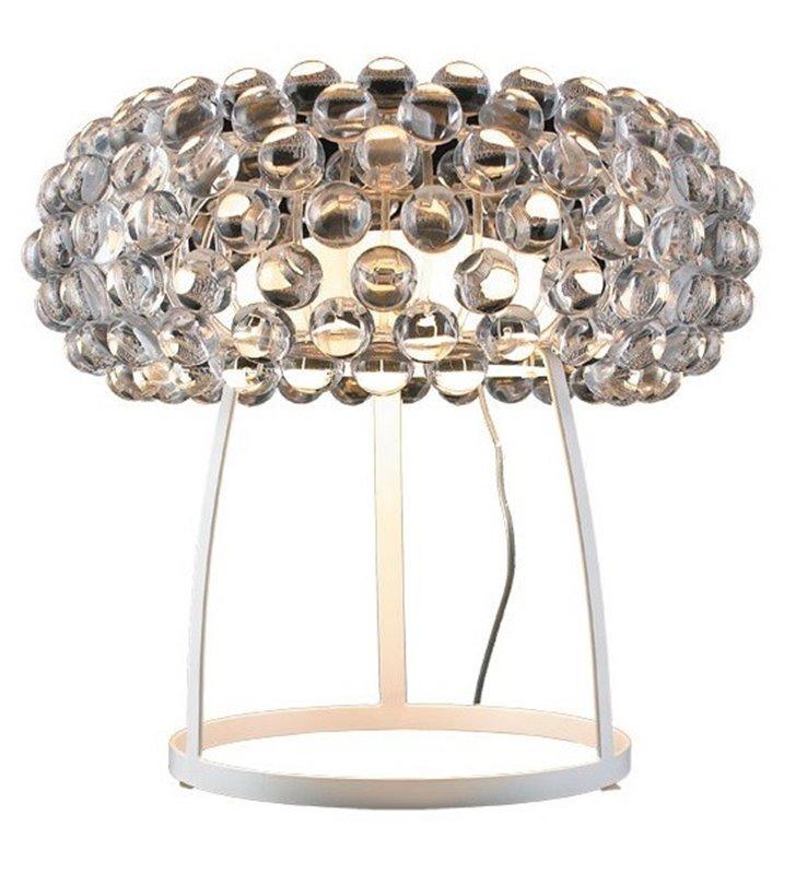 Lampa stołowa Acrylio nowoczesna designerska klosz akrylowe kulki