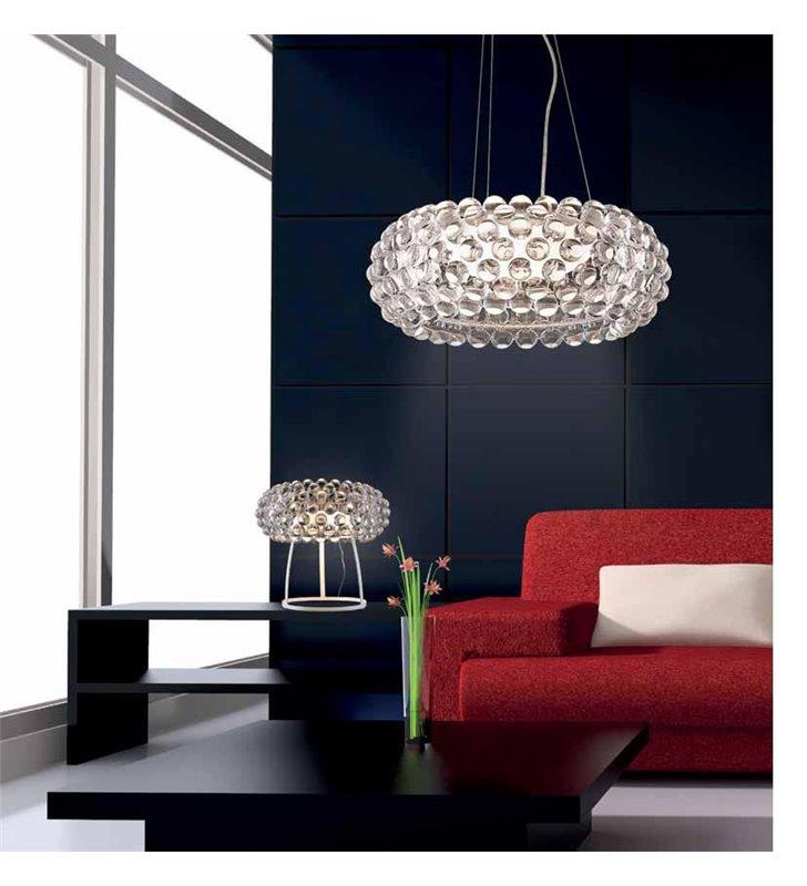 Lampa wisząca Acrylio nowoczesna klosz akrylowe kulki do salonu sypialni kuchni jadalnia nad stół
