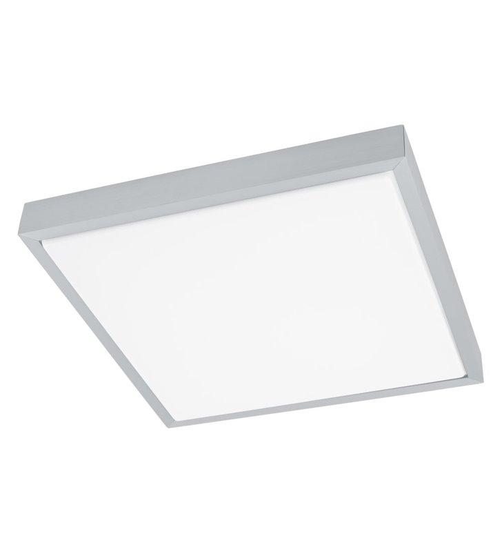 Plafon Idun1 380 kwadratowy aluminium