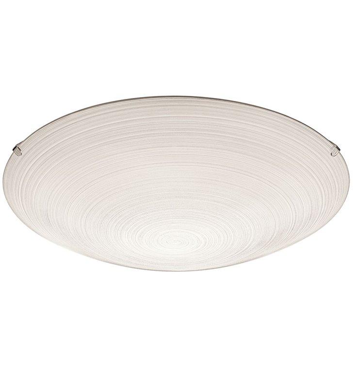 Plafon Malva 315 okrągły szklany beżowy