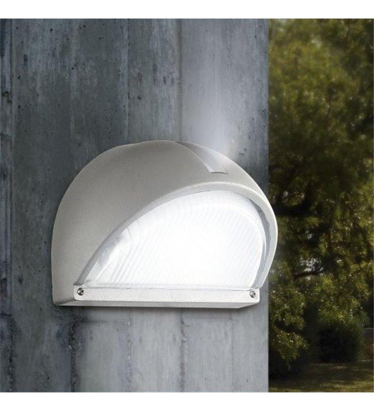 Ścienna lampa ogrodowa Onja biała IP44 E27