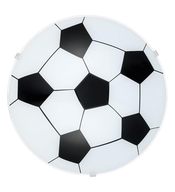 Lampa sufitowa dziecięcy plafon ze szkła Junior1 piłka nożna