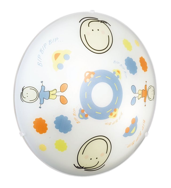 Lampa sufitowa Junior2 dziecięcy kolorowy plafon - DOSTĘPNY OD RĘKI