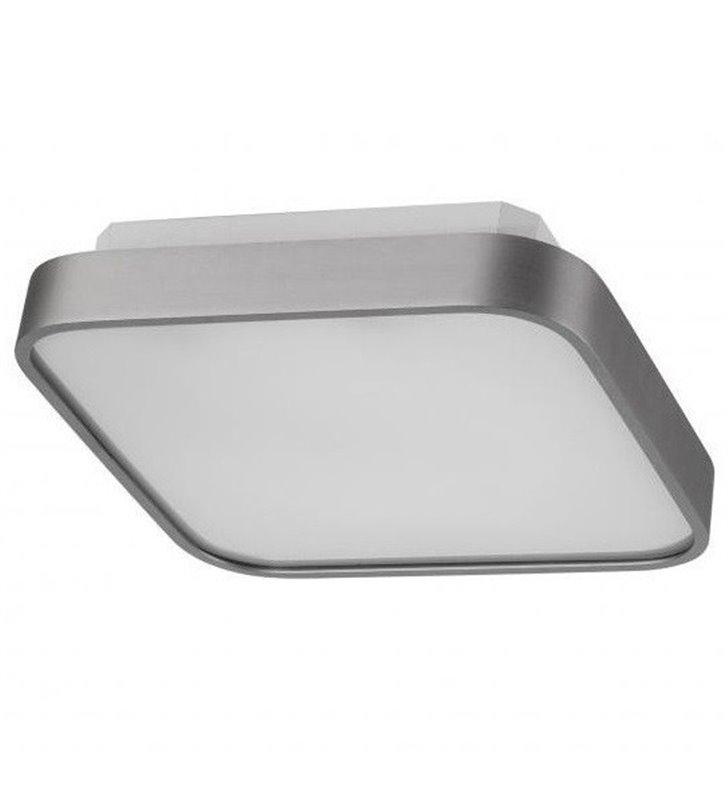 Plafon Quadro 300 kwadratowy kolor aluminium