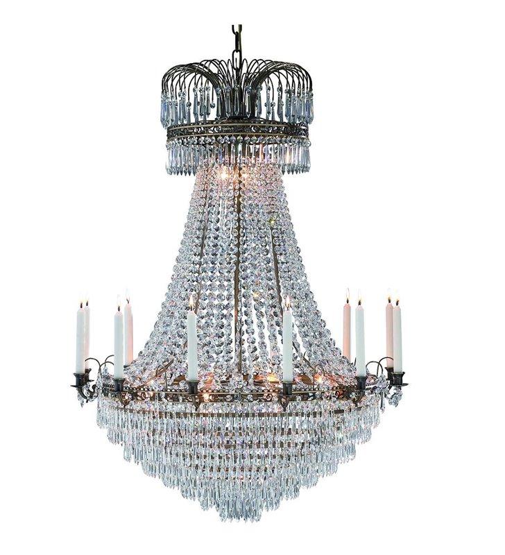 Żyrandol Lacko duży kryształowy żyrandol do sali weselnej balowej