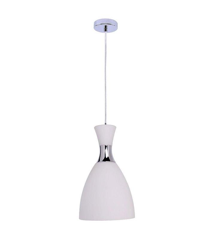 Lampa wisząca Vizio biała pojedyncza