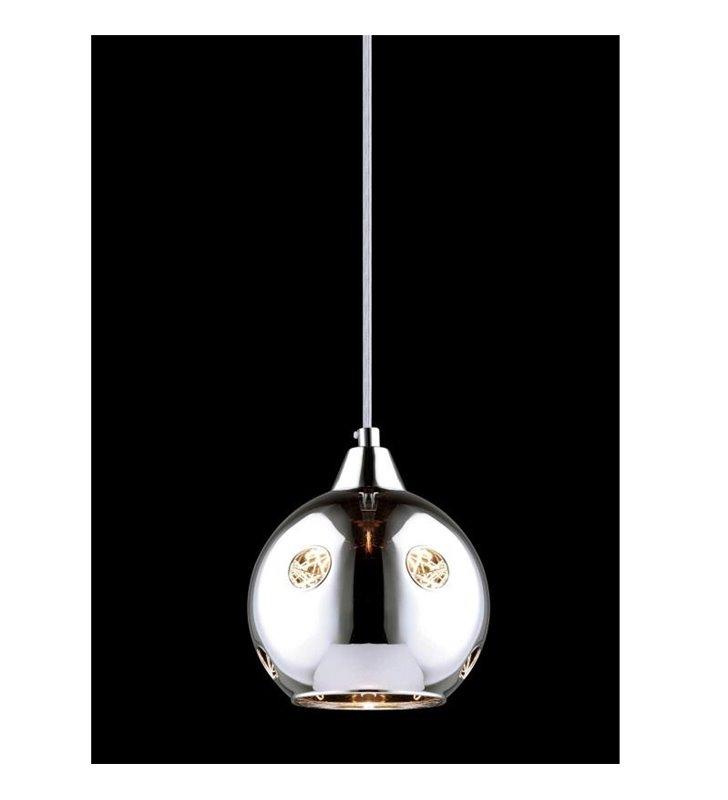Lampa wisząca Martin srebrna kula