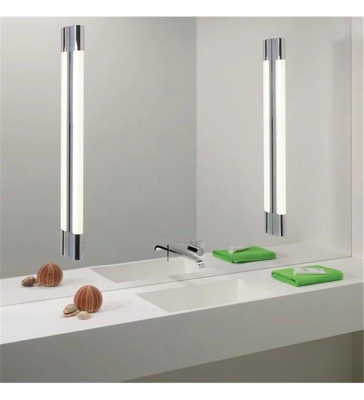 60cm Lampa łazienkowa Do Oświetlenia Lustra Palermo Led Chrom