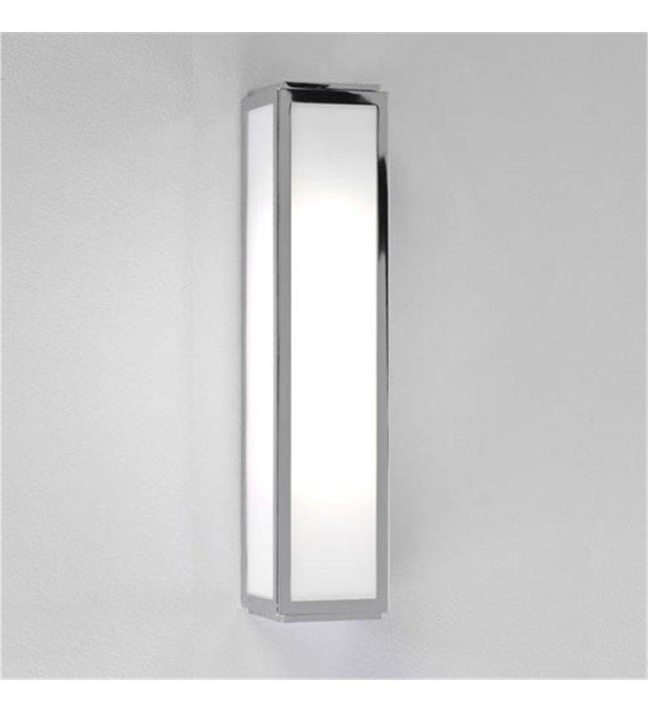 Lampa łazienkowa Mashiko 36cm LED chrom szklany klosz