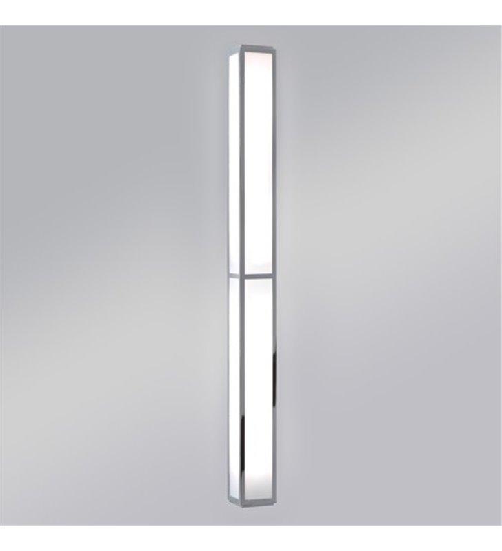 Długa listwa łazienkowa Mashiko 90cm chrom