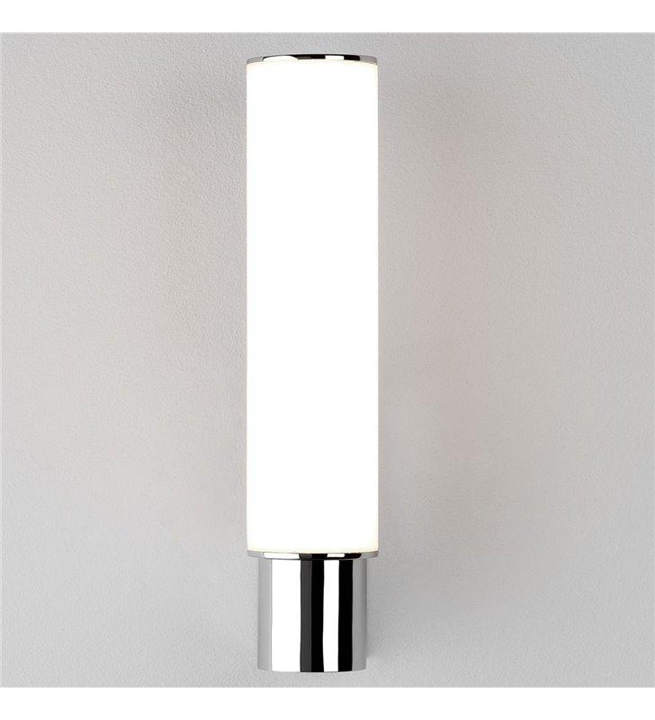 Kinkiet łazienkowy Kyoto LED chrom montaż z boku lustra