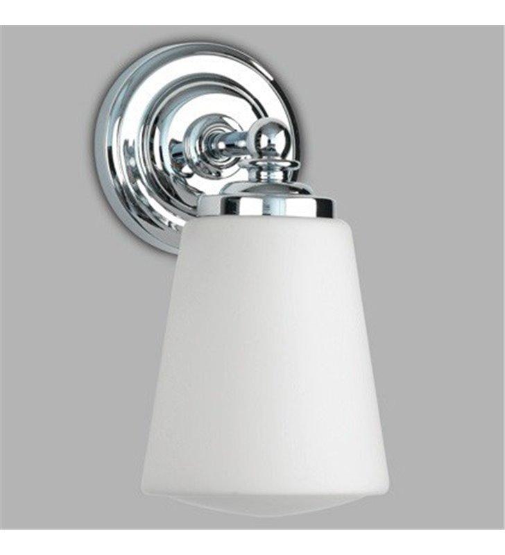Kinkiet łazienkowy Anton w stylu klasycznym chrom