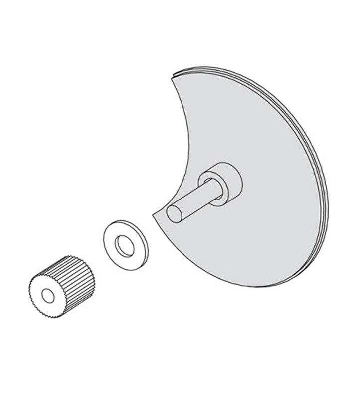 Mirror Adapter - do montażu lampy bezpośrednio na lustrze