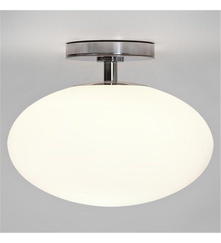 Lampa sufitowa do łazienki Zeppo 30cm szklana IP44