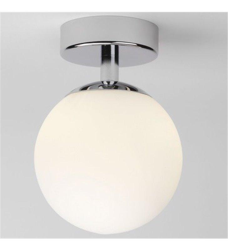Lampa sufitowa do łazienki Denver mała klosz szklana kula IP44