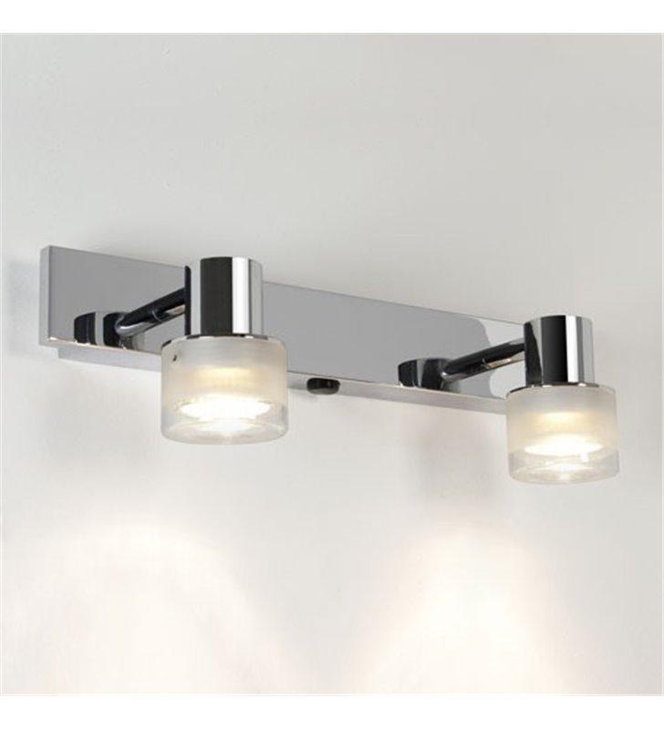 lampy nad lustro oprawy łazienkowe