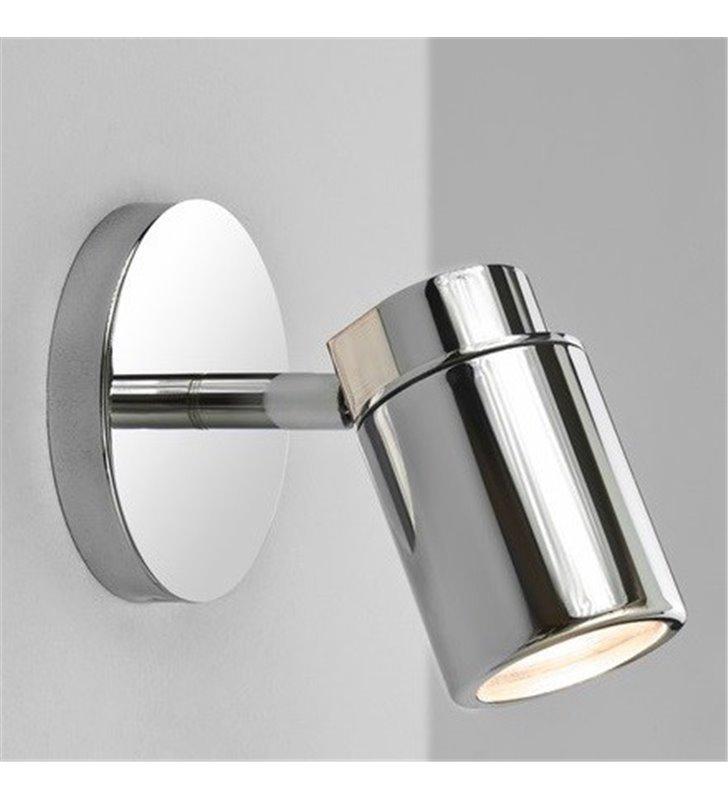 Lampa ścienno sufitowa do łazienki Como chrom