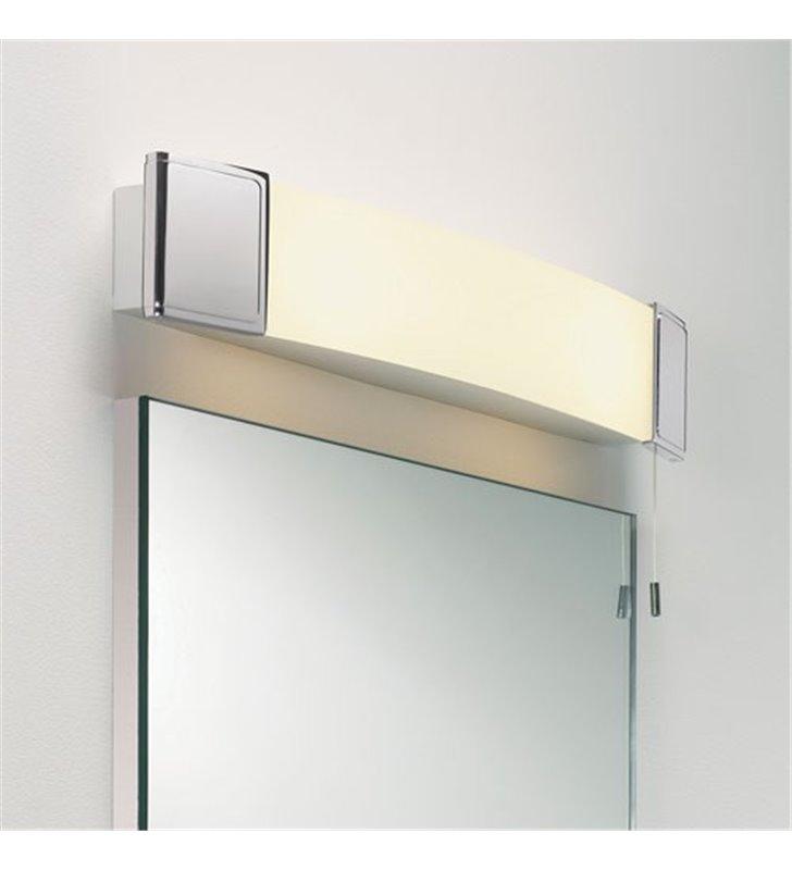 Lampa łazienkowa nad lustro Anja Shaver włącznik sznureczkowy gniazdo do maszynki do golenia lub szczoteczki do zębów