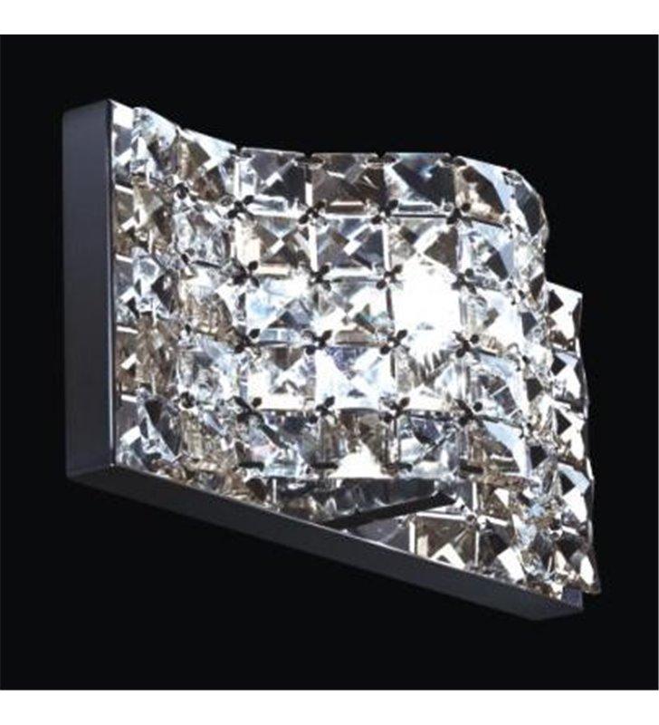 Kinkiet Scarve nowoczesny kryształowy pojedynczy do salonu sypialni jadalni na korytarz hol