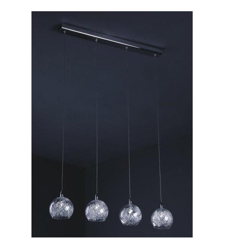 Lampa wisząca Selmo 4 punktowa do jadalni nad stół kuchni salonu