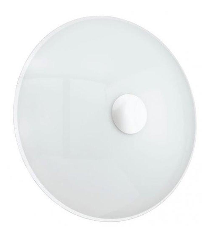 Plafon Nube 420 biały szklany okrągły 2 żarówki