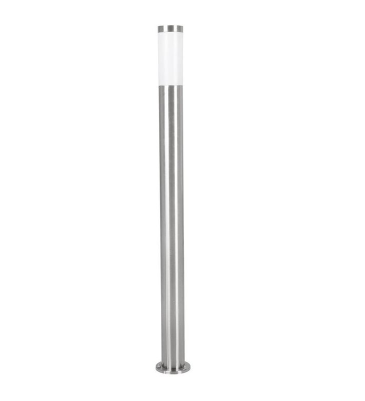 Stalowy słupek oświetleniowy Helsinki ponad metr wysokości nowoczesny tuba