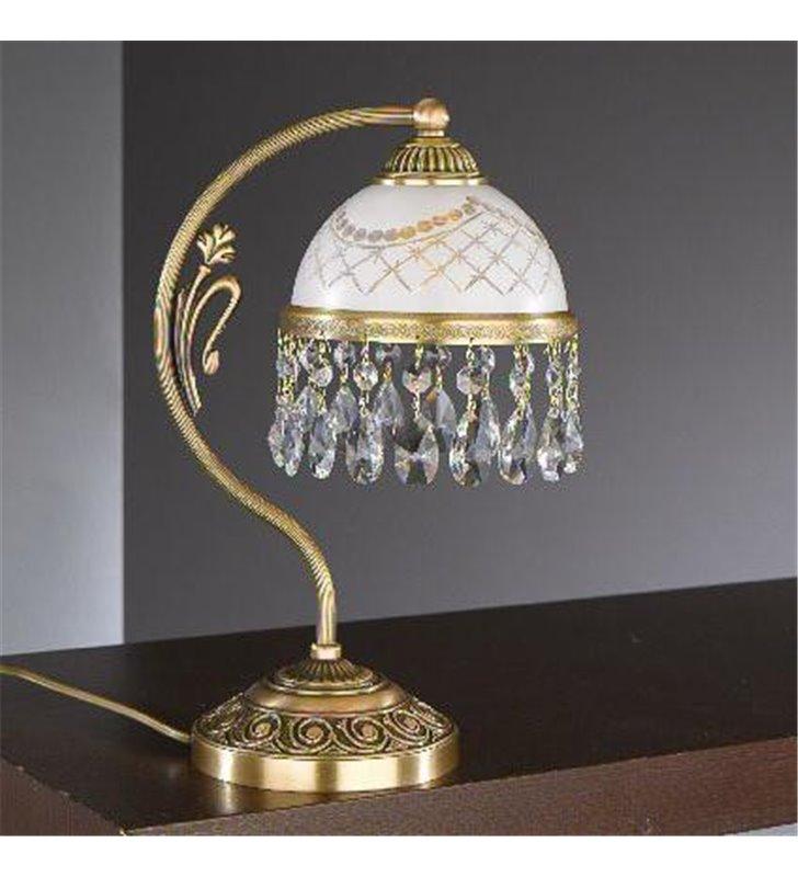 Lampa stołowa Topaz Mosiądz
