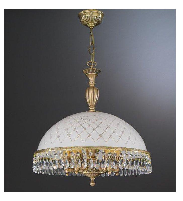 Lampa wisząca do kuchni Topaz Mosiądz