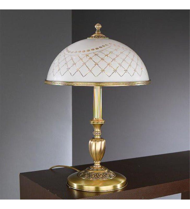 Lampka nocna ekskluzywna włoska Topaz1 Mosiądz