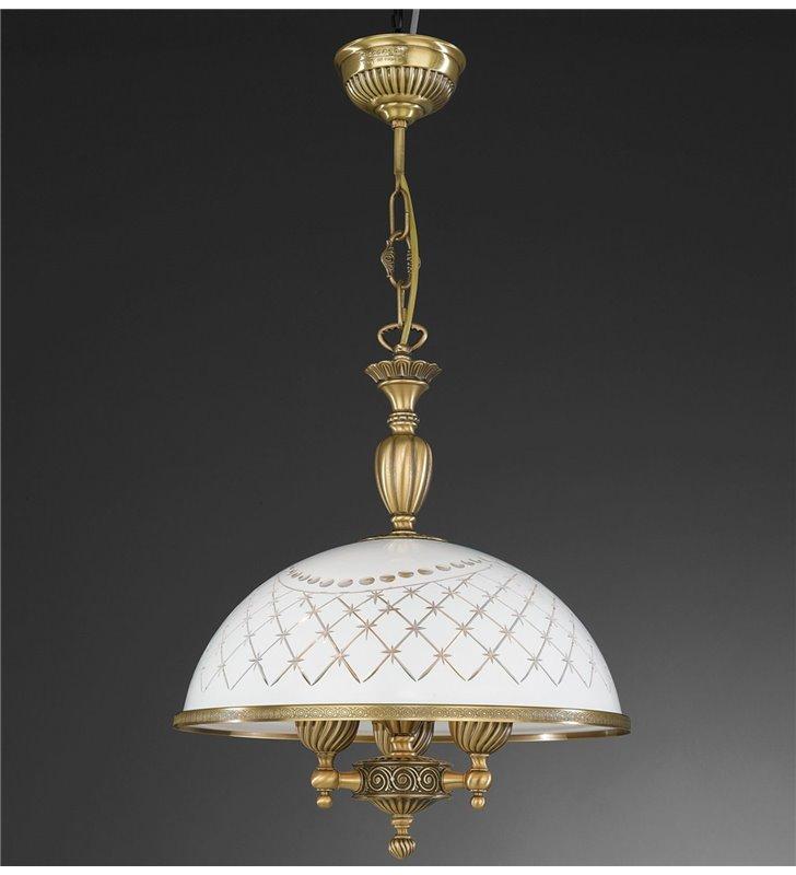 Kuchenna lampa wisząca Topaz1 Mosiądz