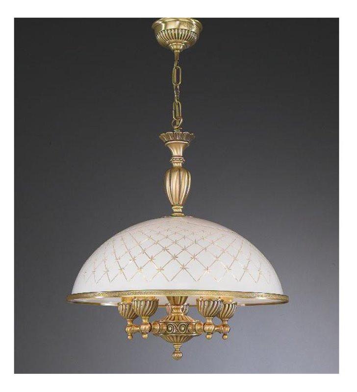Duża lampa wisząca do kuchni Topaz1 Mosiądz